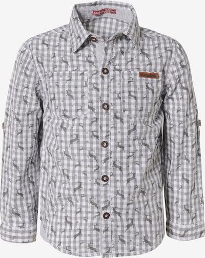 BONDI Hemd in stone / hellgrau, Produktansicht