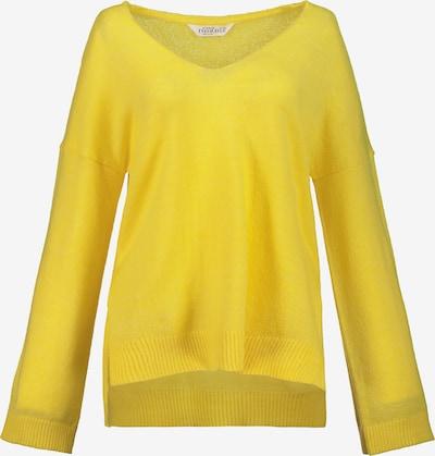 Studio Untold Pullover in gelb, Produktansicht