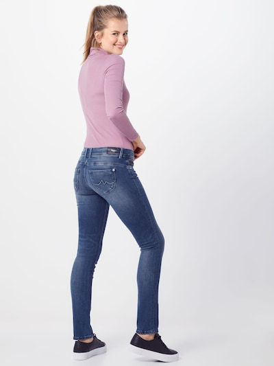 Pepe Jeans Jeans 'New Brooke' in blue denim: Rückansicht