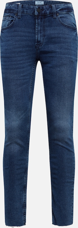 Only & Sons Jeans 'WARP SKINNY BLUE CROP PK4888' in blue denim, Produktansicht