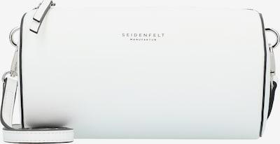 Seidenfelt Manufaktur Umhängetasche 'Simo' in weiß: Frontalansicht