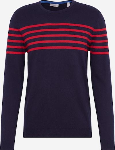 ESPRIT Trui in de kleur Navy / Rood, Productweergave