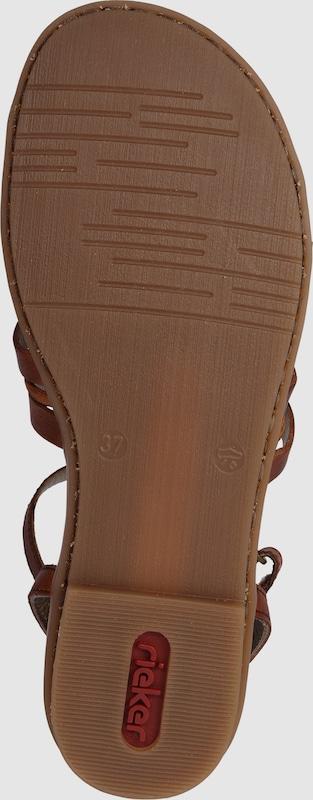 RIEKER Römer-Sandale mit Riemchen