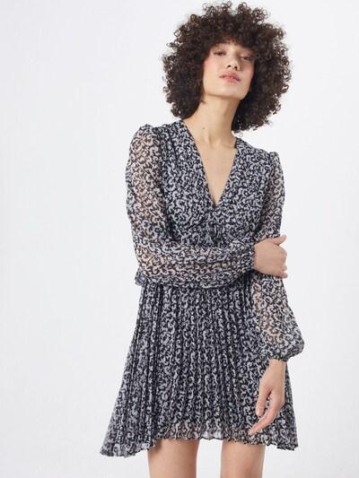 The Kooples Kleid 'ROBE' in grau / schwarz, Modelansicht