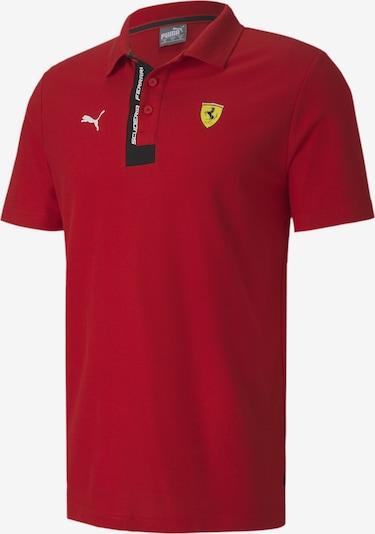 PUMA Poloshirt in dunkelrot: Frontalansicht