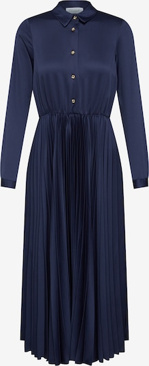 Closet London Blousejurk 'Closet Pleated Shirt Dress' in de kleur Navy, Productweergave