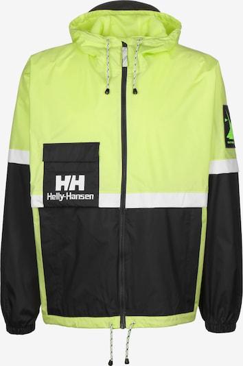HELLY HANSEN Regenjacke 'Yu20' in neongelb / schwarz, Produktansicht