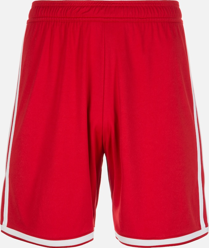 ADIDAS PERFORMANCE Shorts 'Regista 18' in rot: Frontalansicht