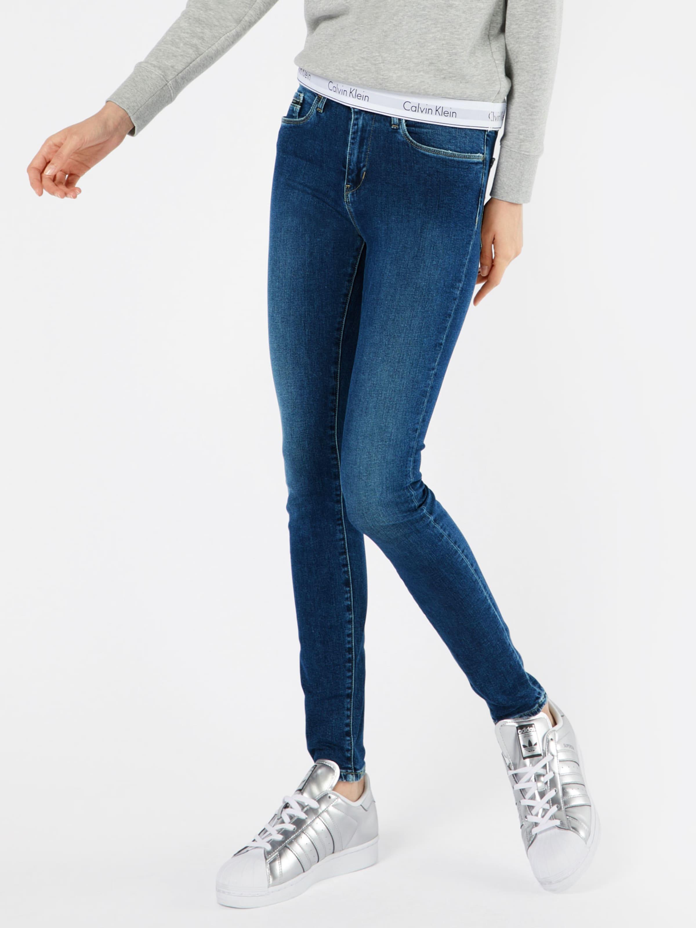 Calvin Klein Jeans 'HR Skinny - Speedy Blue' Skinny Jeans 2018 Online Outlet Online-Shop Verkauf Schnelle Lieferung mEa4BXy0T1