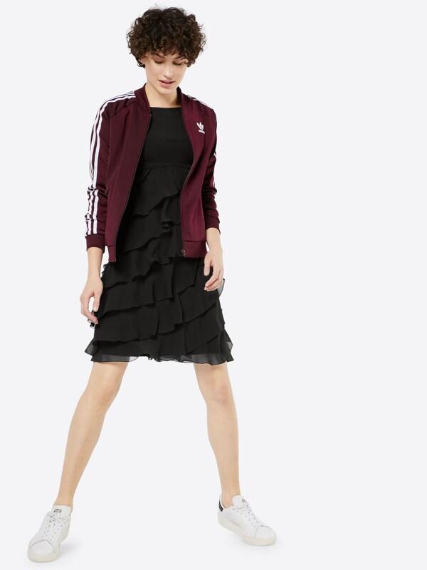 SWING Kleid mit Volants aus Chiffon
