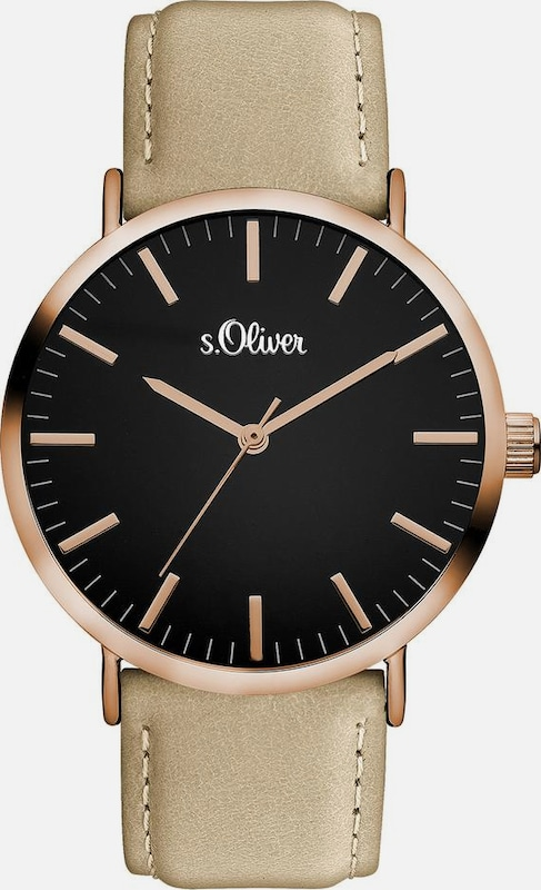 s.Oliver RED LABEL Quarzuhr »SO-3376-LQ«