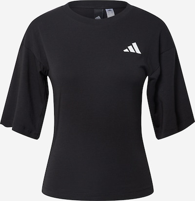 ADIDAS PERFORMANCE Sportshirt in schwarz: Frontalansicht