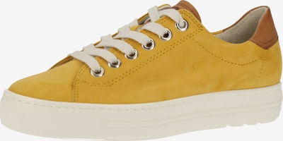 Paul Green Sneaker in braun / senf, Produktansicht