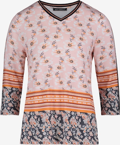 Betty Barclay Sweatshirt mit V-Ausschnitt in pink, Produktansicht
