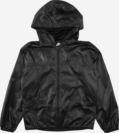 Nike Sportswear Prehodna jakna 'Essential' | črna barva, Prikaz izdelka