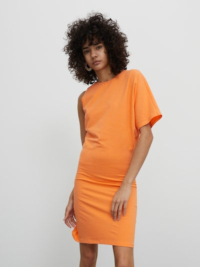Rochie 'Sinan' EDITED pe portocaliu, Vizualizare model