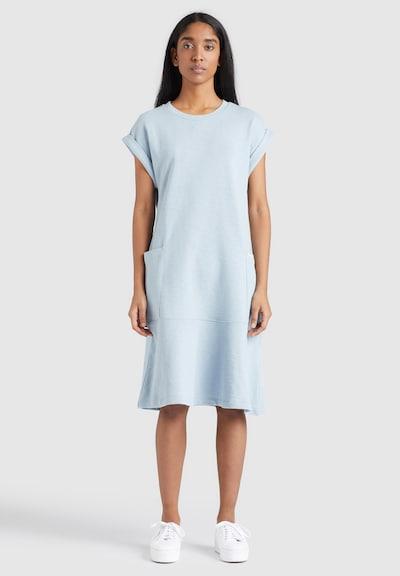 khujo Kleid ' SVETLANA ' in blau / hellblau, Modelansicht