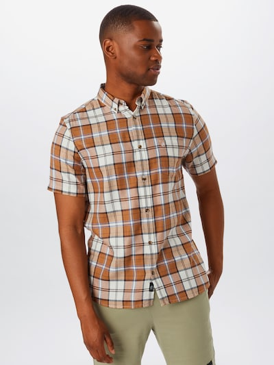 BURTON MENSWEAR LONDON Chemise 'GINGER' en beige / marron: Vue de face