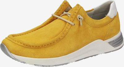 SIOUX Schnürschuh 'Grash' in gelb, Produktansicht