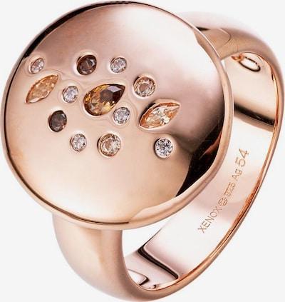 XENOX Ring 'Wonderland' in rosegold, Produktansicht
