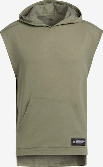 ADIDAS PERFORMANCE Kapuzenshirt in khaki, Produktansicht