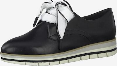 MARCO TOZZI Schnürschuh in schwarz, Produktansicht