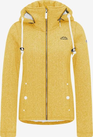 ICEBOUND Jacke in gelbmeliert, Produktansicht