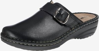 ROHDE Pantoletten 'Cremona' in schwarz, Produktansicht