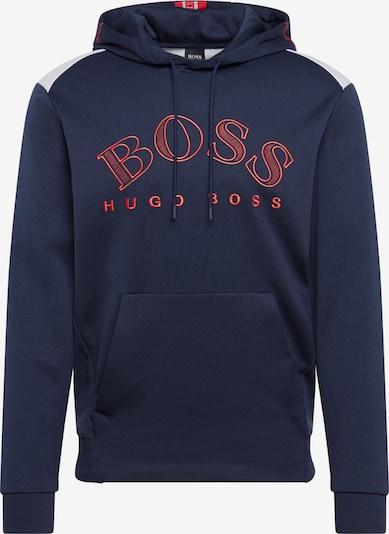 BOSS ATHLEISURE Sweatshirt 'Soody' in de kleur Navy, Productweergave