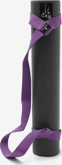 YOGISTAR.COM Yoga-set Carry in dunkellila / schwarz, Produktansicht