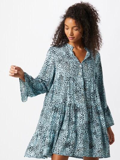 Zwillingsherz Kleid 'Emely' in blau / schwarz, Modelansicht
