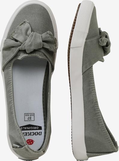 Dockers by Gerli Ballerina in khaki: Seitenansicht