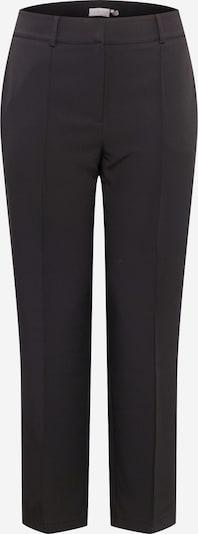 Pantaloni cu dungă 'Carina' Guido Maria Kretschmer Curvy Collection pe negru, Vizualizare produs