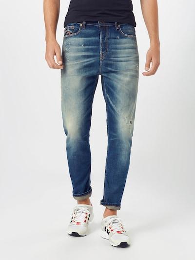 DIESEL Jeans 'D-VIDER' in blue denim, Modelansicht