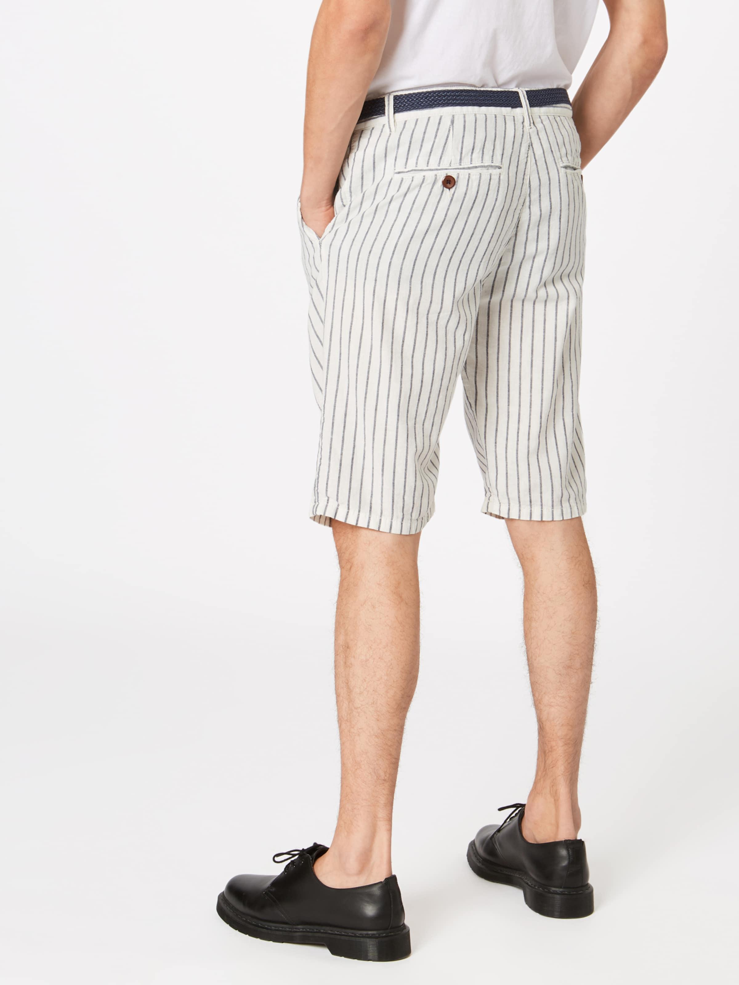 Sh' Pantalon 'co Blanc Chino Li Esprit Stripe En 2E9WHIYD