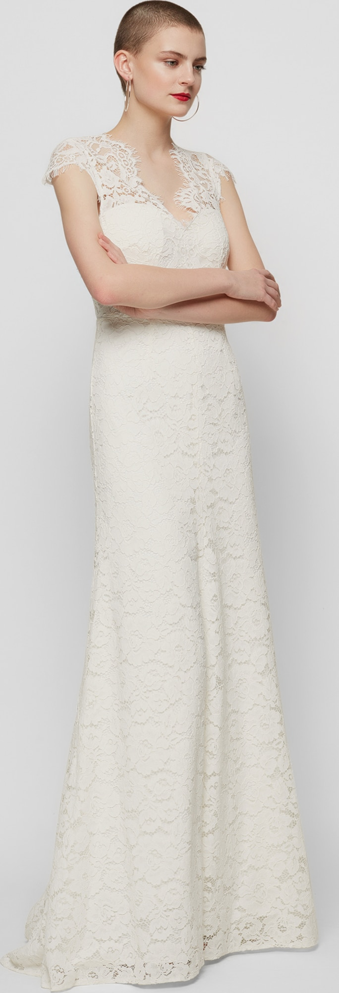 IVY & OAK Hochzeitskleid mit Spitzen-Design in weiß   ABOUT YOU