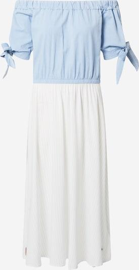 Alife and Kickin Sukienka koszulowa 'Ada' w kolorze jasnoniebieski / białym, Podgląd produktu