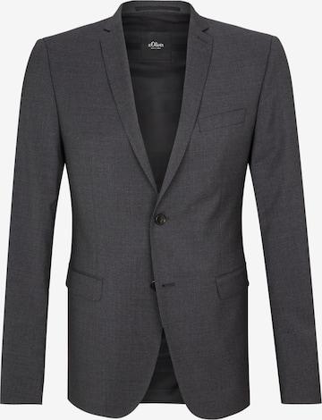 Veste de costume 'Cesano' s.Oliver BLACK LABEL en noir