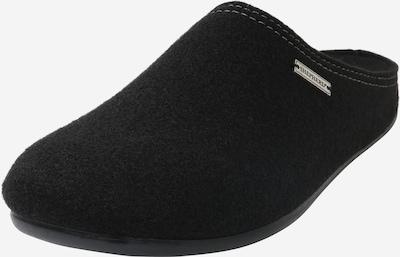 Papuci de casă 'JON' SHEPHERD pe negru, Vizualizare produs