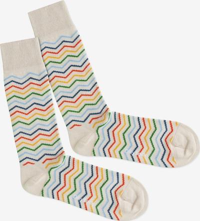 DillySocks Socken 'Square Rainbow' in mischfarben, Produktansicht