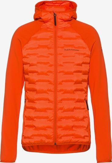 PEAK PERFORMANCE Steppjacke 'Argon Hybrid' in orange, Produktansicht