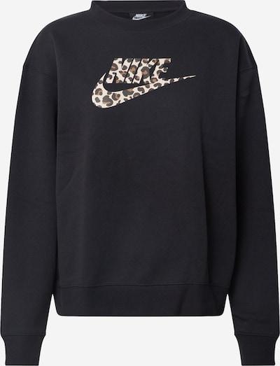 Nike Sportswear Shirt in beige / braun / schwarz, Produktansicht