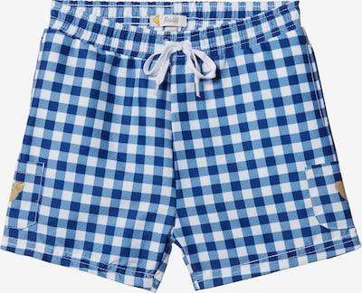 STEIFF Badehose in blau / weiß, Produktansicht