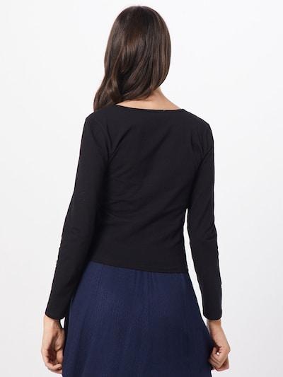 Marškinėliai 'Lino' iš ABOUT YOU , spalva - juoda: Vaizdas iš galinės pusės