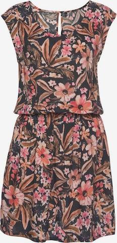 LASCANA Sommerkleid in Mischfarben