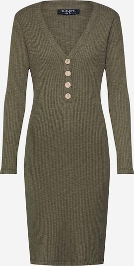Sublevel Kleid 'DOB' in grün, Produktansicht