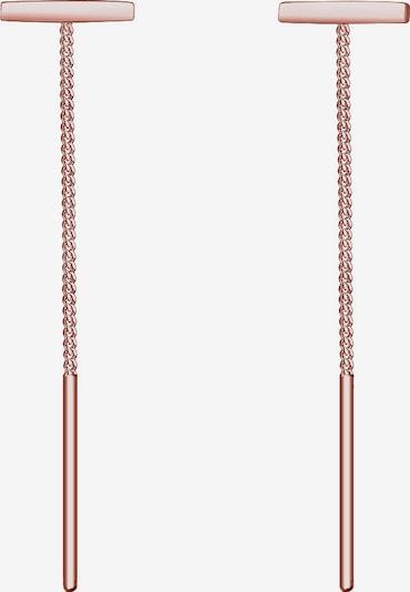 ELLI Oorbellen 'Geo' in de kleur Rose-goud, Productweergave