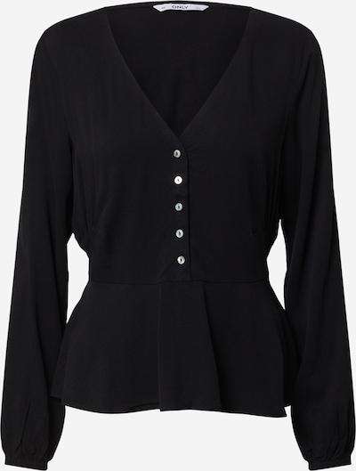 ONLY T-shirt 'FALMA SOLID' en noir, Vue avec produit