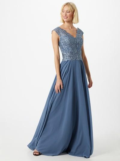 LUXUAR Kleid '2020-II' in blau, Modelansicht