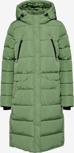 TOM TAILOR DENIM Manteau d'hiver 'padded long coat' en vert, Vue avec produit